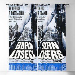 Born Losers, 1967 (Vintage Movie Poster) Blackout Curtain