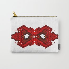 Infinite Red Hex -0 Carry-All Pouch