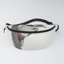 Knock, knock. Who's There? Woodpecker! Fanny Pack