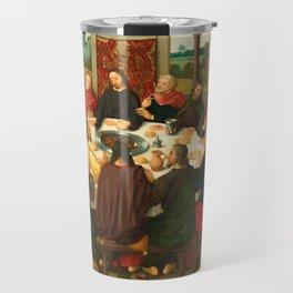 The Last Supper - 15th Century Painting Travel Mug