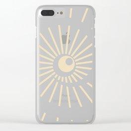 Sunshine / Sunbeam 8 Clear iPhone Case