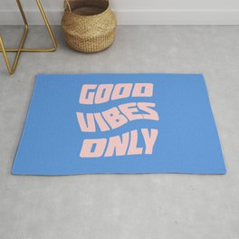 good vibes only IX Rug