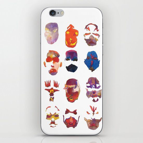 Masquerade iPhone & iPod Skin
