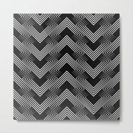 Art Deco . Mountains . Metal Print