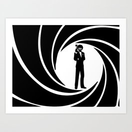 Ross 007 Art Print
