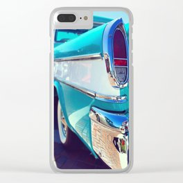 Chevrolet Cameo Truck Blue Clear iPhone Case