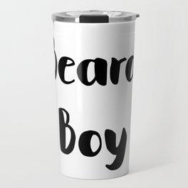 Beard Boy Travel Mug