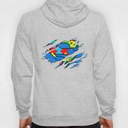 Autism Awareness Day Gifts Super Autism T-Shirt Color Hoody