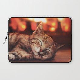 Sleeping Cat Laptop Sleeve