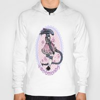 xenomorph Hoodies featuring Lolified Xenomorph by Mindful Merry