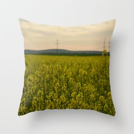 sun in the nature Throw Pillow