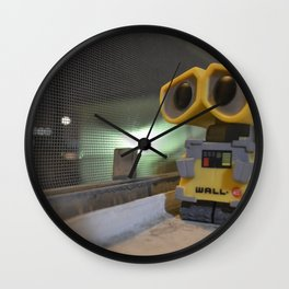Figurines (wall-e inspired) Wall Clock