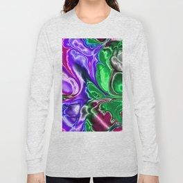 Electric Fractal 3A Long Sleeve T-shirt