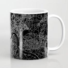 Cincinnati map Coffee Mug