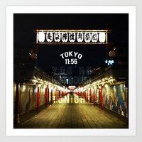 Tokyo 11:56 Art Print