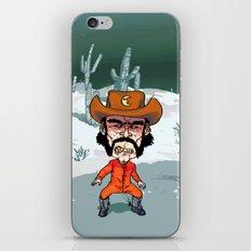 Night Cowboy iPhone & iPod Skin