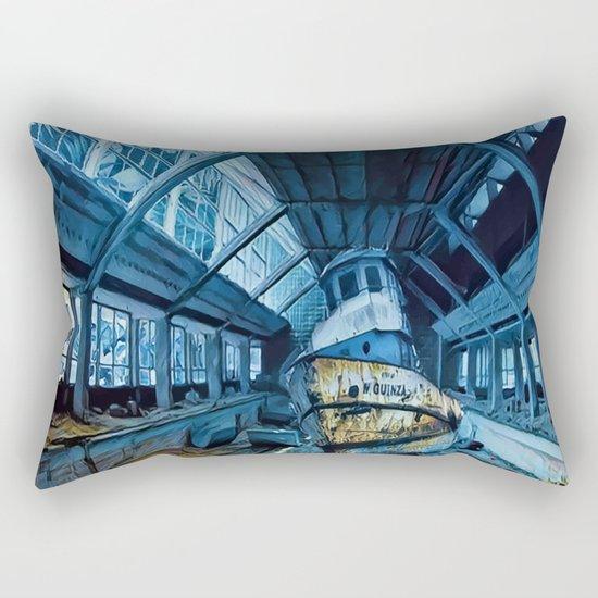 The Pool Rectangular Pillow