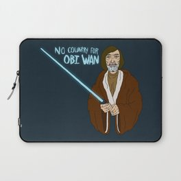 NO COUNTRY FOR OBI WAN Laptop Sleeve