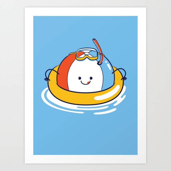 Unsinkable :P Art Print