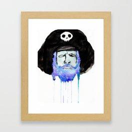 Space pirate! Framed Art Print