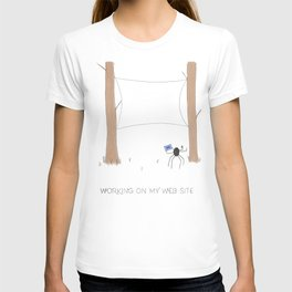 Daily Routine of Web Designers T-shirt