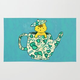 Dinnerware sets - Kitten in a teapot Rug
