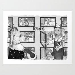 Pet Store Art Print