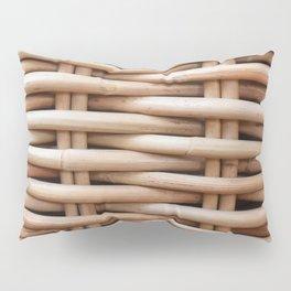 Rustic basket Pillow Sham
