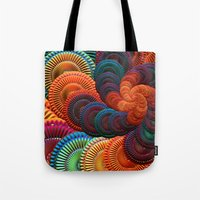 coasters Tote Bags featuring The Coasters by ArtPrints