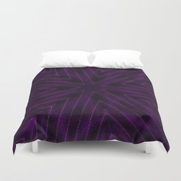 Eggplant Purple Duvet Cover