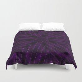 Eggplant Purple Duvet Cover