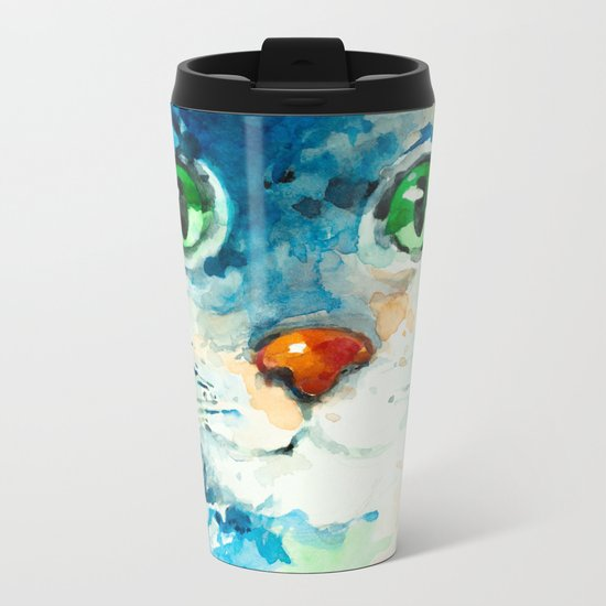 Kitty Metal Travel Mug