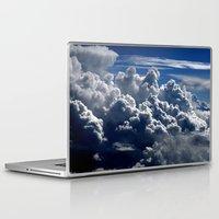 clouds Laptop & iPad Skins featuring clouds by  Agostino Lo Coco