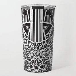 Millennium Falcon Mandala Illustration Travel Mug