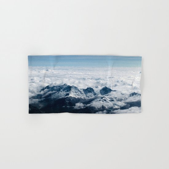 High Mountains #clouds Hand & Bath Towel