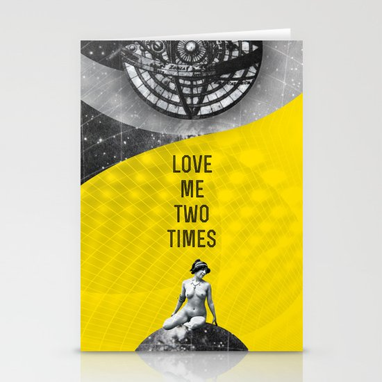 Love me two times (Rocking Love series) Stationery Cards