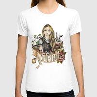 alice in wonderland T-shirts featuring Wonderland by Juu Monteiro