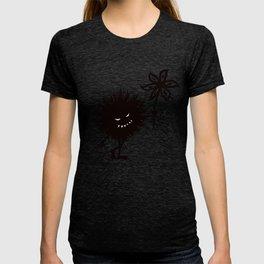 Evil Bug Gives Flower T-shirt