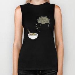 Noodle Brain Biker Tank