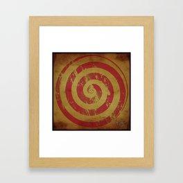 Swirl, that's it... Framed Art Print