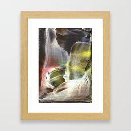 Missing link outside these times Framed Art Print
