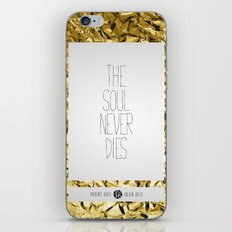 Golden Rules #5 iPhone & iPod Skin