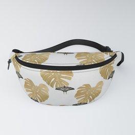 Botanical, Butterfly & Monstera Fanny Pack