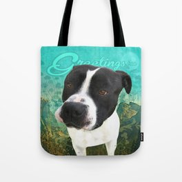 BOB (shelter pup) Tote Bag