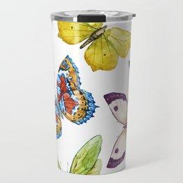 Butterfly Pattern 01 Travel Mug