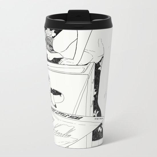Martha Metal Travel Mug