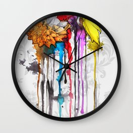 birth of a color Wall Clock