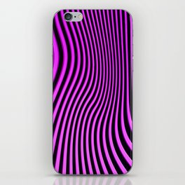 Stripes in Pink iPhone Skin