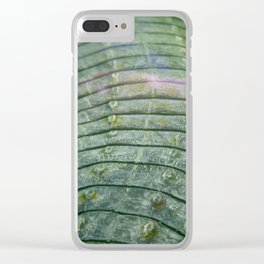 Scales of a Crocodile Clear iPhone Case
