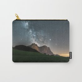 Milky Way and Mountains in the Italian Dolomites Carry-All Pouch